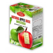 Natural Apple Juice 100% natural 3 Liters pressed NFC